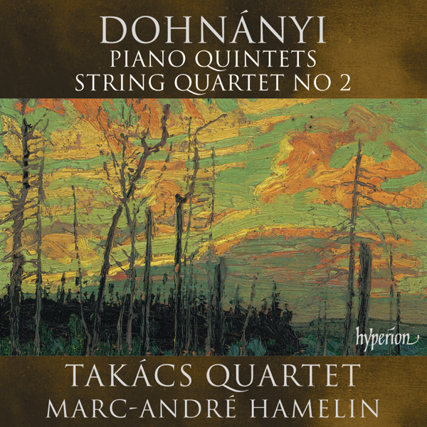 dohnnyi piano quintets with hamelin and string quartet no. 2